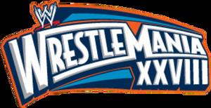 wrestlemania 28 logo