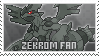 Zekrom Stamp by NoNamepje
