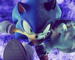 Sonic the Werehog Wallpaper by NoNamepje