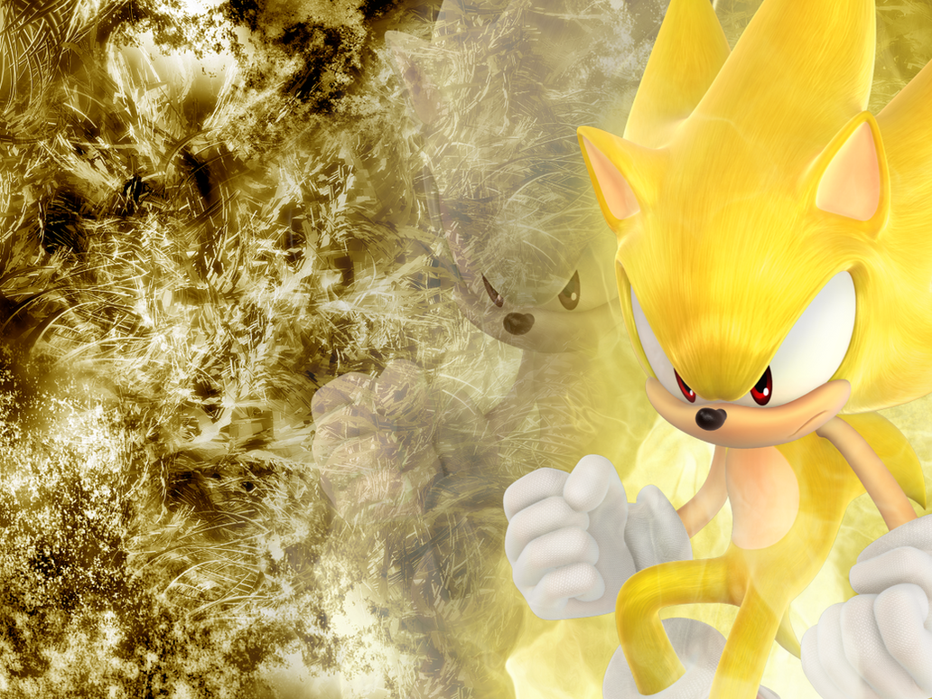Super Sonic Wallpaper by NoNamepje