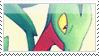 Grovyle Stamp by NoNamepje
