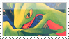 Grovyle Stamp 2 by NoNamepje