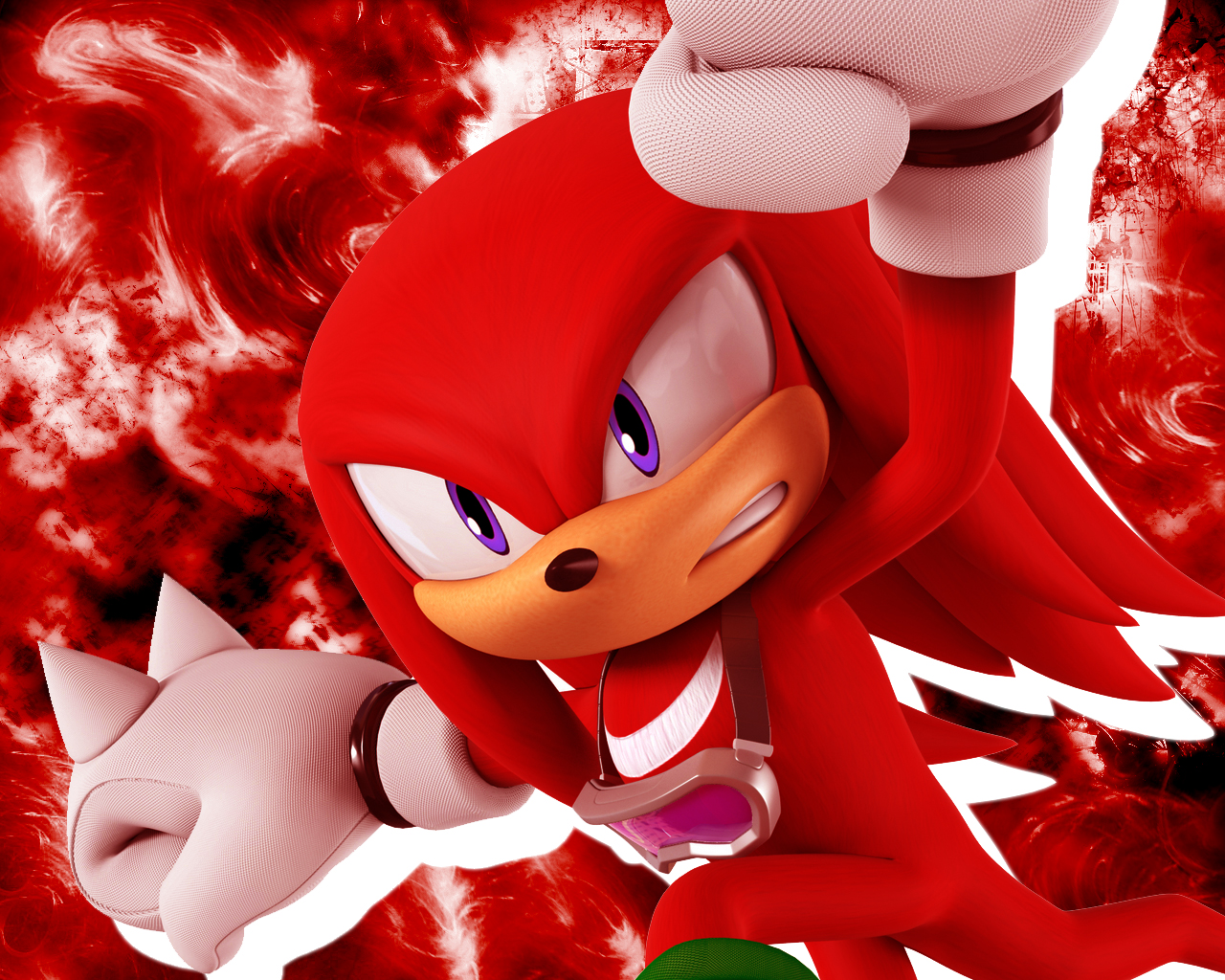 Knuckles Doesn't Chuckle With DEATH BATTLE! by Strunton on