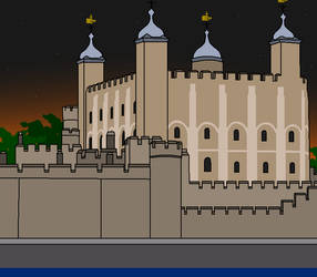 Tower of London by TheBaz1