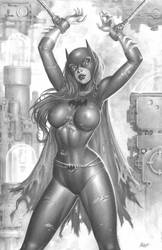Batgirl captured by deacon-black