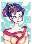 Chinese Girl Redraw