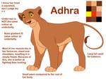 Adhra ref sheet