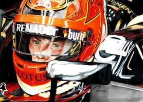 Kimi Raikkonen Lotus 2013 Monaco