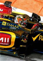 Kimi Raikkonen Abu Dhabi 2013