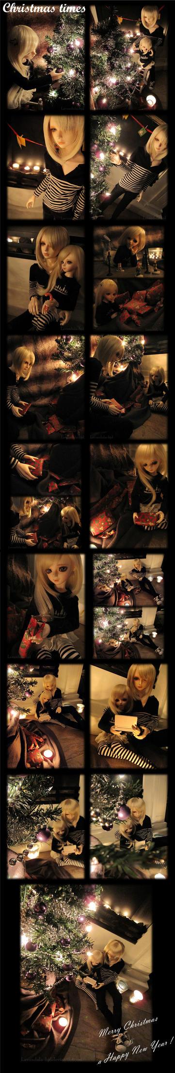 Christmas Times by Lavandula-BJD