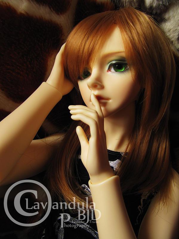 Green Eyed Musician by Lavandula-BJD