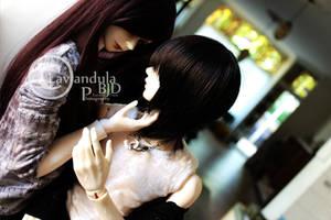 My angel - My devil in disguise by Lavandula-BJD