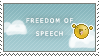 Freedom of Speech by SQUiSHtheHobo
