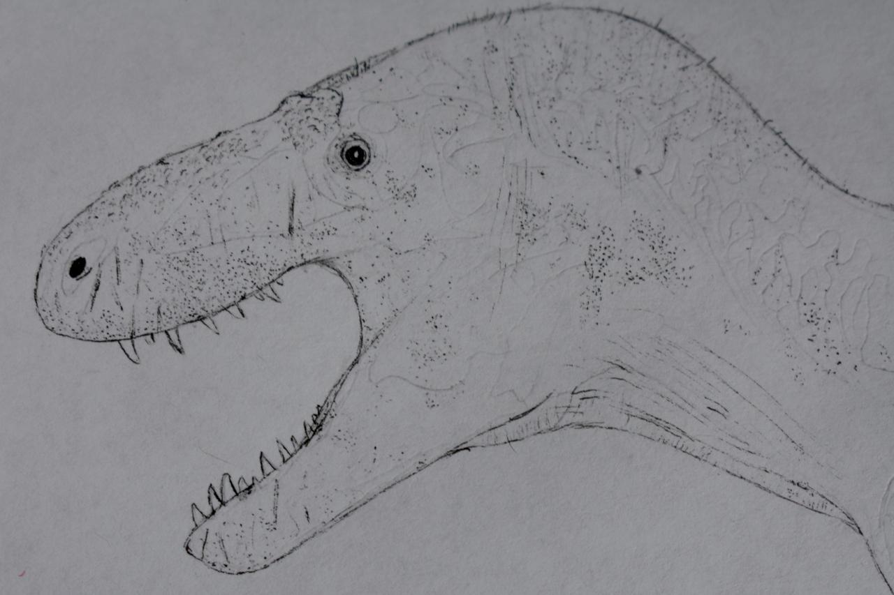 Bistahieversor sealeyi WIP by GigaBoss101