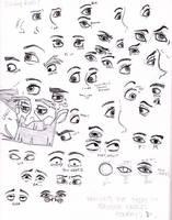 Disney Eyes by painting-monkey