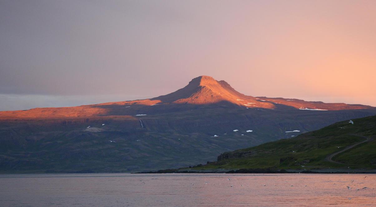 Pink Peak by ragnaice