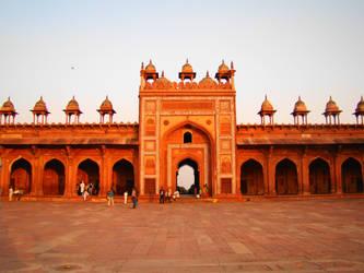 Jama Masjid by babsartcreations