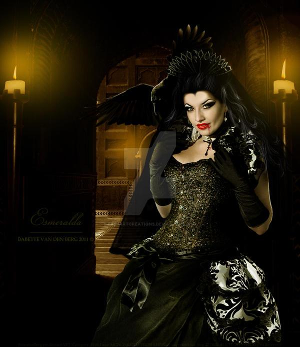 Esmeralda by babsartcreations