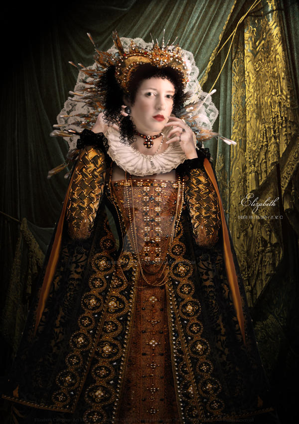 Elizabeth I by babsartcreations