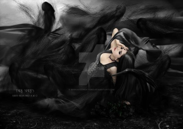 Dark Spirits by babsartcreations