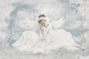 Christmas Angel 2 by babsartcreations