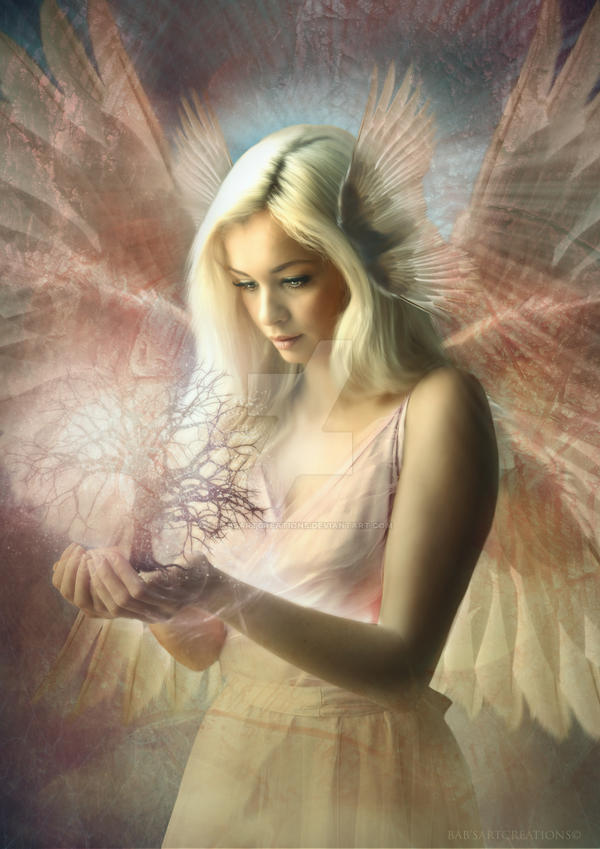 Angel Jehoel by babsartcreations