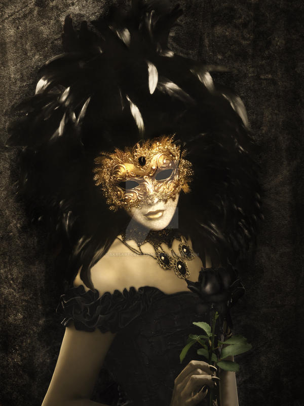 Bal Du Mask 2 Venice by babsartcreations