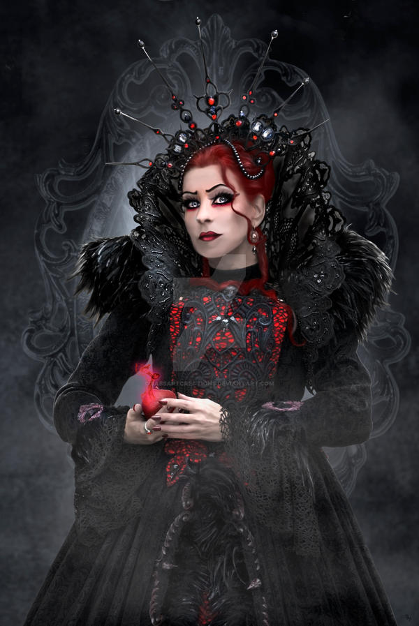 Evil Queen by babsartcreations