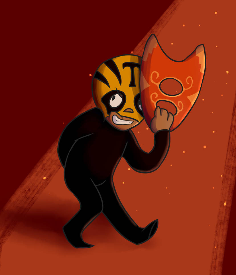 mucha lucha timmy of a thousand masks