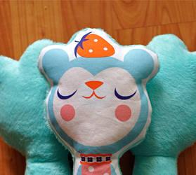 Strawberry Bear by Cutesypoo