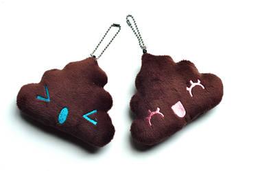Cutesypoo Keychains by Cutesypoo