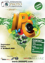 IPC 2009 - Coming Soon Poster by floops
