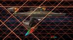 Restored Starship Enterprise Model in Tholian Web
