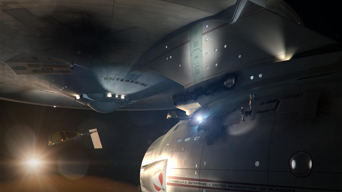 Star Trek 2.5, Repairs Above Ceti Alpha V by Cannikin1701