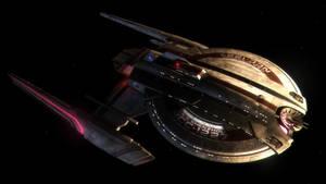 USS Shenzhou #1 by Cannikin1701