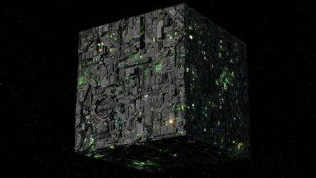 Borg Cube - First Contact version