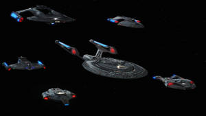 First Contact Federation Ships