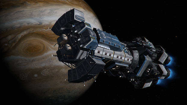 Agatha King Flagship of the Jupiter Fleet