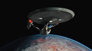 John Eaves' Disco Enterprise concept departure