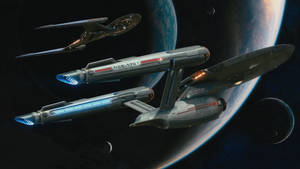 Enterprise and Discovery 4k