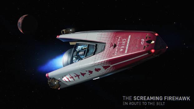 The Screaming Firehawk