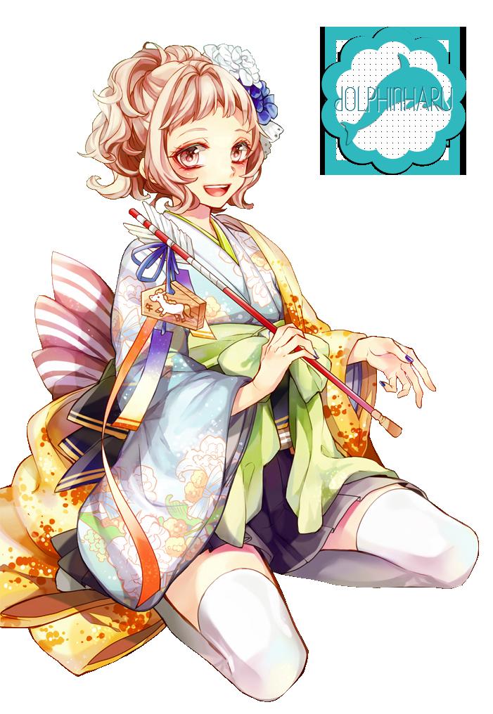 La Boîte Magique aux Rêves  __render_12___anime_girl__by_dolphinharu-d7bdr1x