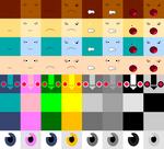 Mega Man Character Skin Textures