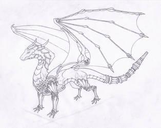 Cyborg dragon by User96