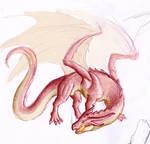Pen dragon sketch