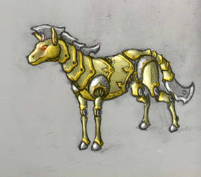 Brass Horse by User96