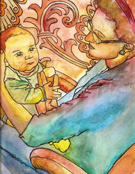 Mother and Child by Ashalie