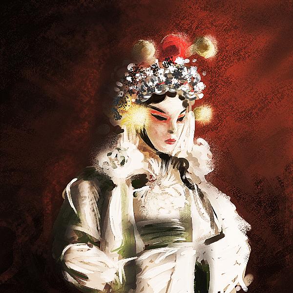 The Actress by jamespeng