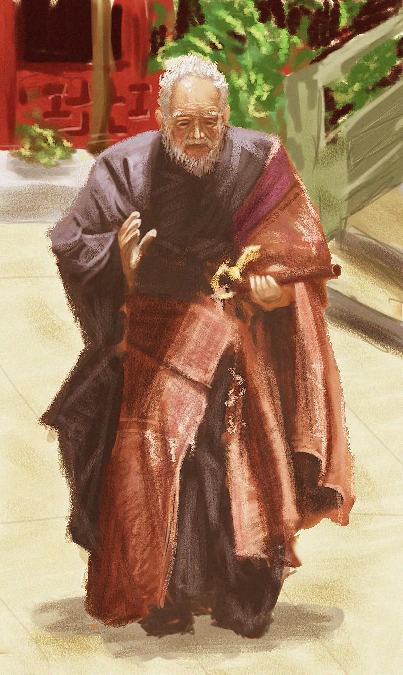 Venerable Monk by jamespeng