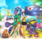 Pokemon Team [comm for WindMang]